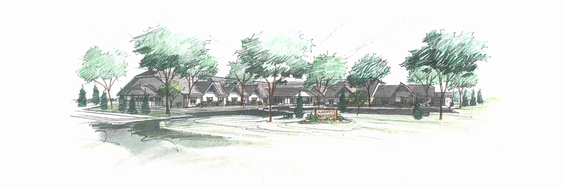 Eagle Ridge Senior Living Rendering
